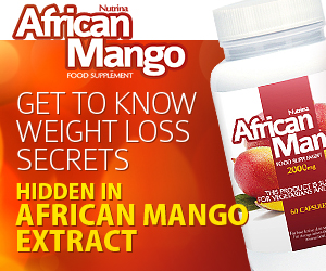 African Mango - ztráta hmotnosti