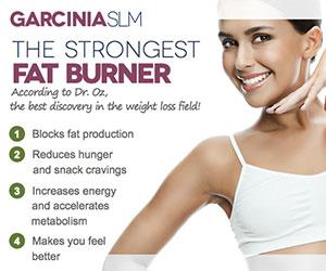 Garcinia SLM - ztráta hmotnosti