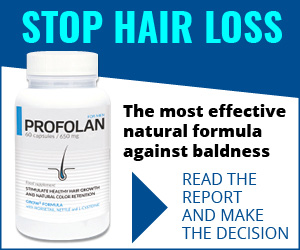 Profolan - ztráta vlasů